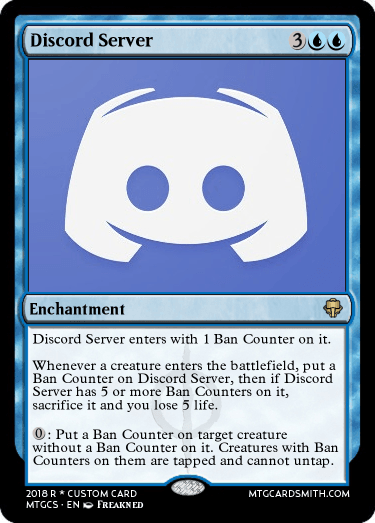 Discord Server by freakned | MTG Cardsmith