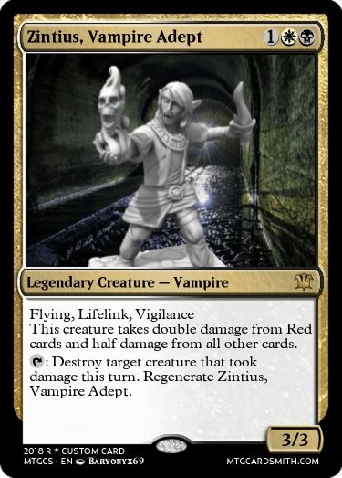 Zintius, Vampire Adept