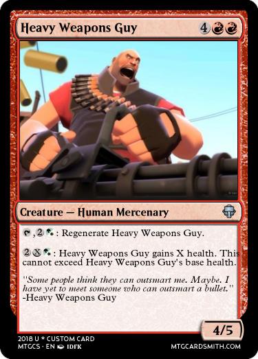 heavy weapons guy by mysticalushanka mtg cardsmith
