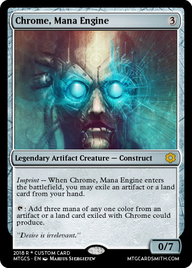 Chrome, Mana Engine