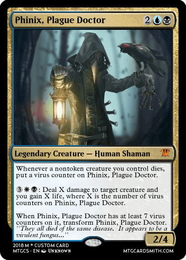Phinix, Plague Doctor