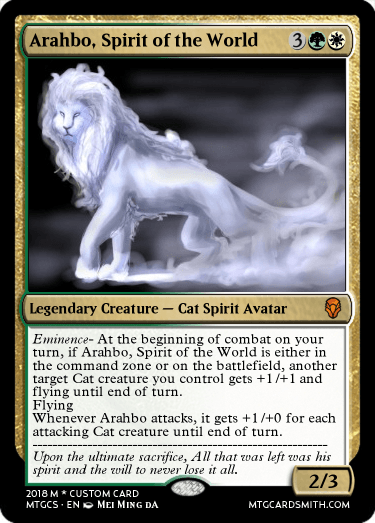 Arahbo, Spirit of the World