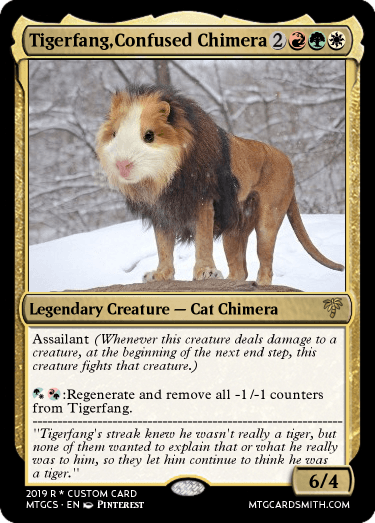 Tigerfang,Confused Chimera