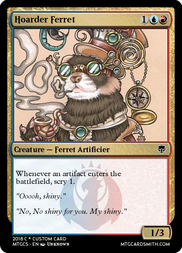 Hoarder Ferret