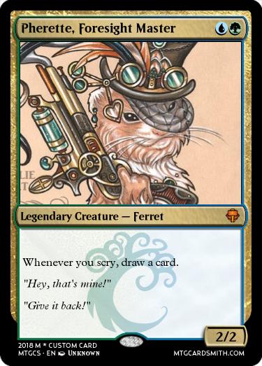 Pherette, Foresight Master
