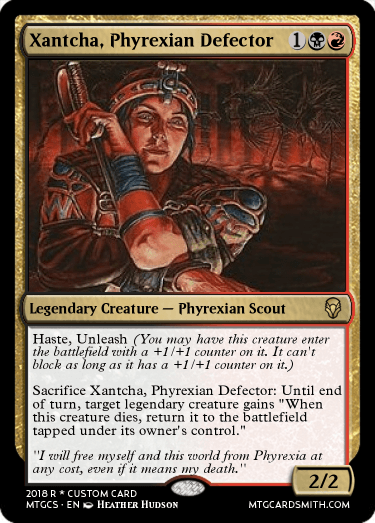 Xantcha, Phyrexian Defector