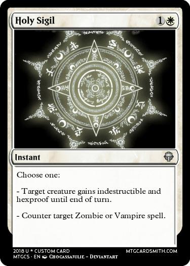 Holy Sigil by ShadeShinobi1 | MTG Cardsmith