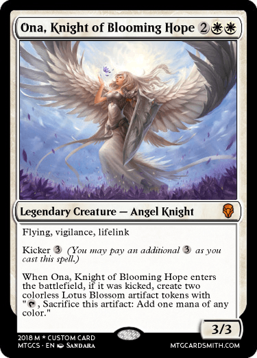 Ona, Knight of Blooming Hope