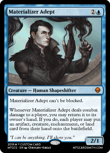 Materializer Adept