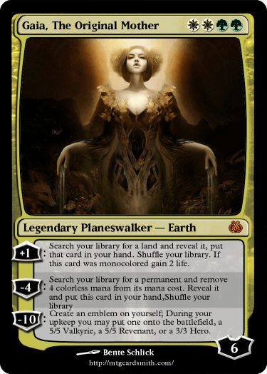 Gaia, The Original Mother by FreyrKentell | MTG Cardsmith