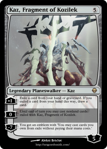 Kaz, Fragment of Kozilek
