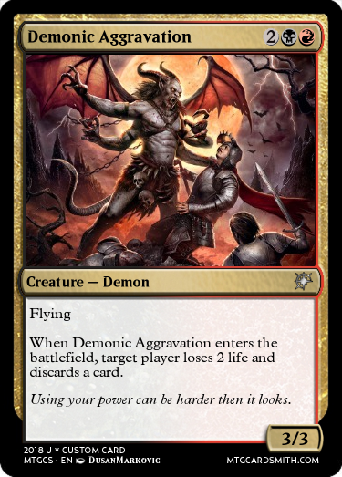 Demonic Aggravation