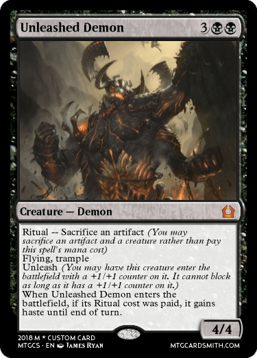 Unleashed Demon