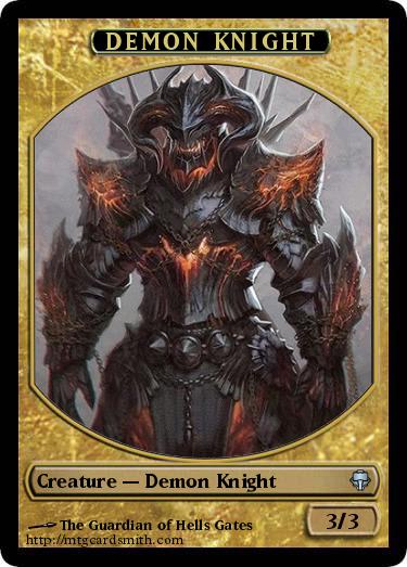Demon Knight By Guetschogl11 Mtg Cardsmith