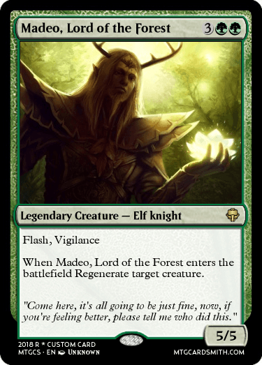 Madeo, Lord of the Forest