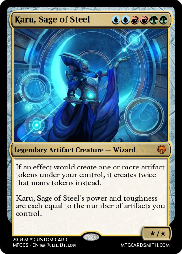 Karu, Sage of Steel