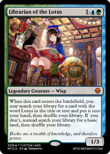 Librarian of the Lotus
