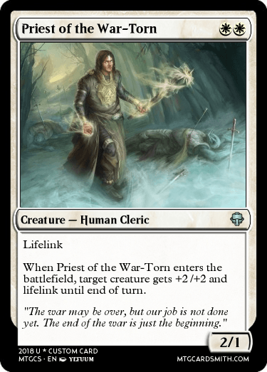 Priest of the War-Torn