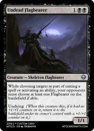 Undead Flagbearer