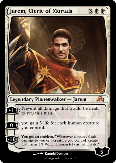 Jarem, Cleric of Mortals