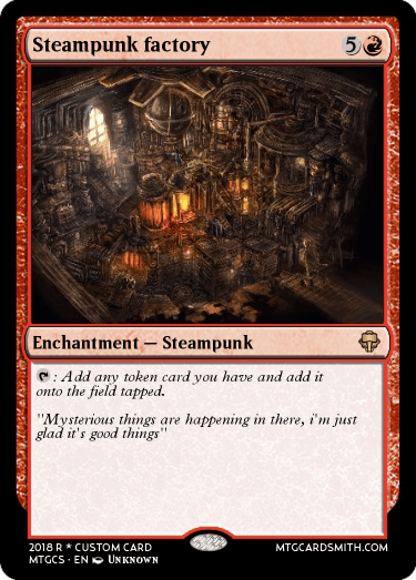 Steampunk factory