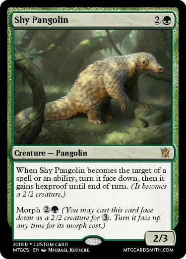 Shy Pangolin
