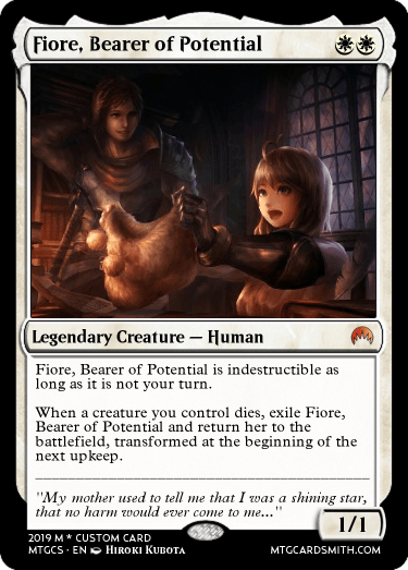 Fiore, Bearer of Potential