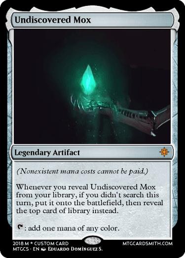 Undiscovered Mox