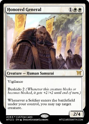 Honored General