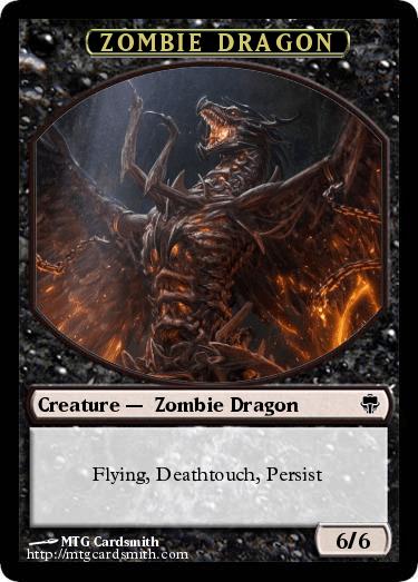 Zombie Dragon By Docoze32 Mtg Cardsmith