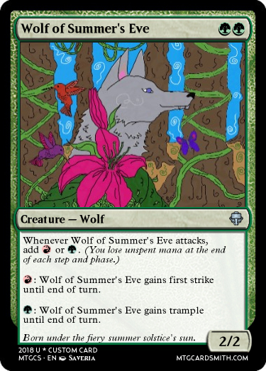 Wolf of Summer's Eve