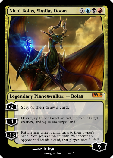 Nicol Bolas, Skallas Doom