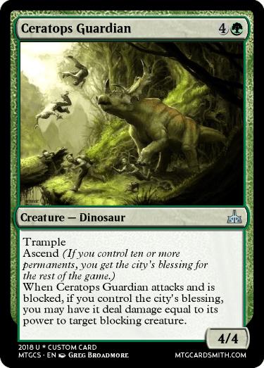 Ceratops Guardian