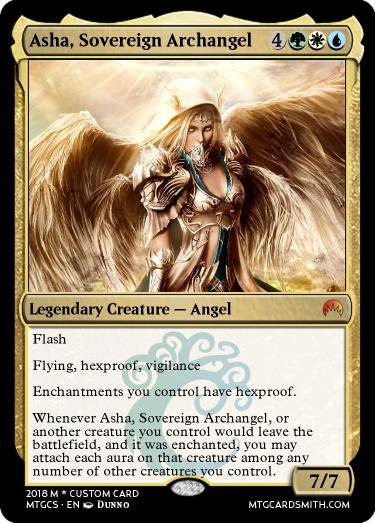 Asha, Sovereign Archangel