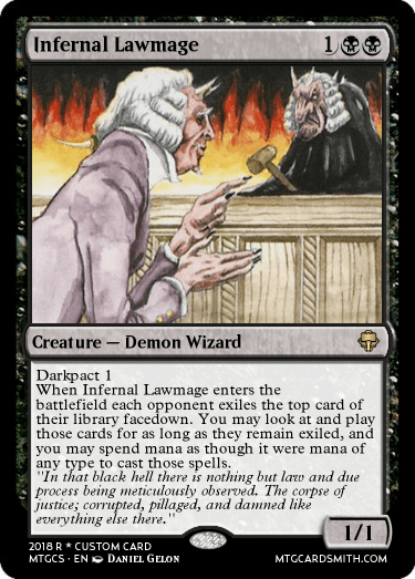 Infernal Lawmage