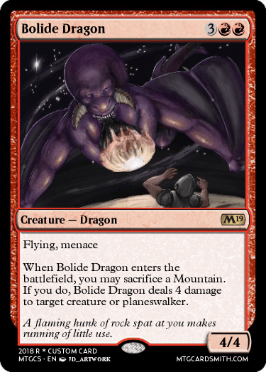 Bolide Dragon