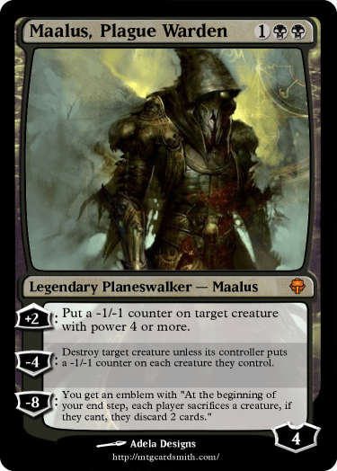 Maalus, Plague Warden