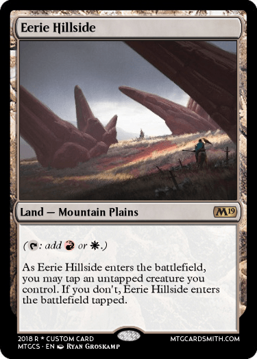 Eerie Hillside