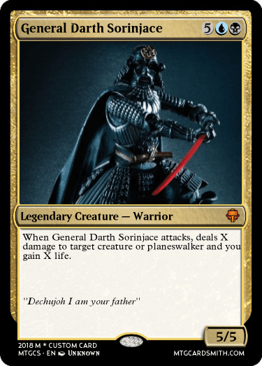 General Darth Sorinjace