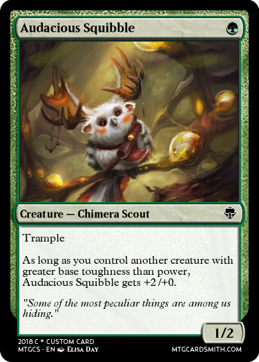 Audacious Squibble