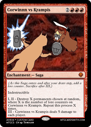 Corwinnn vs Krampis