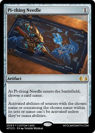 Pi-thing Needle