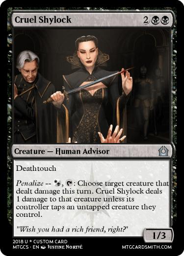 Cruel Shylock