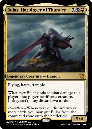 Bulaz, Harbinger of Thunder