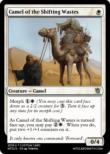 Camel of the Shifting Wastes