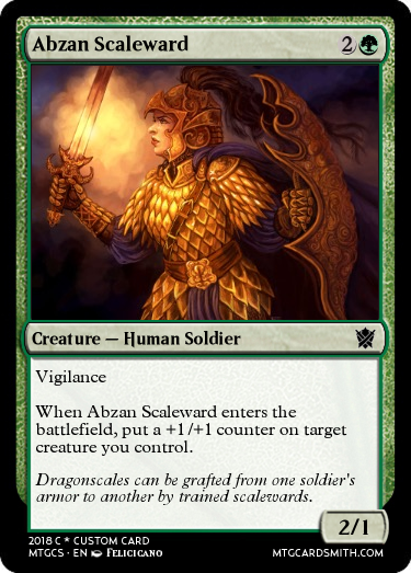 Abzan Scaleward