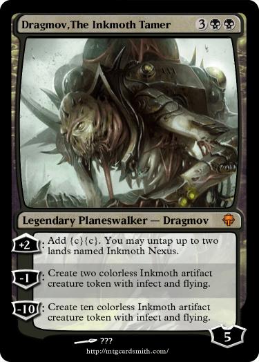 Dragmov,The Inkmoth Tamer by RL1 | MTG Cardsmith