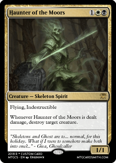Haunter of the Moors