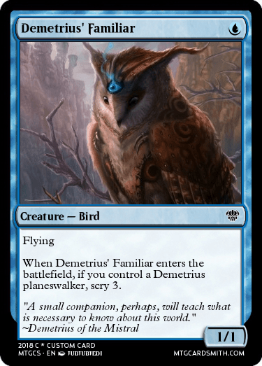 Demetrius' Familiar