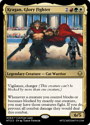 Kragan, Glory Fighter
